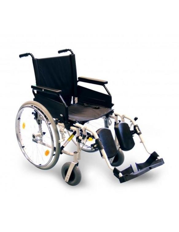 Fauteuil roulant pliant avec repose-jambes