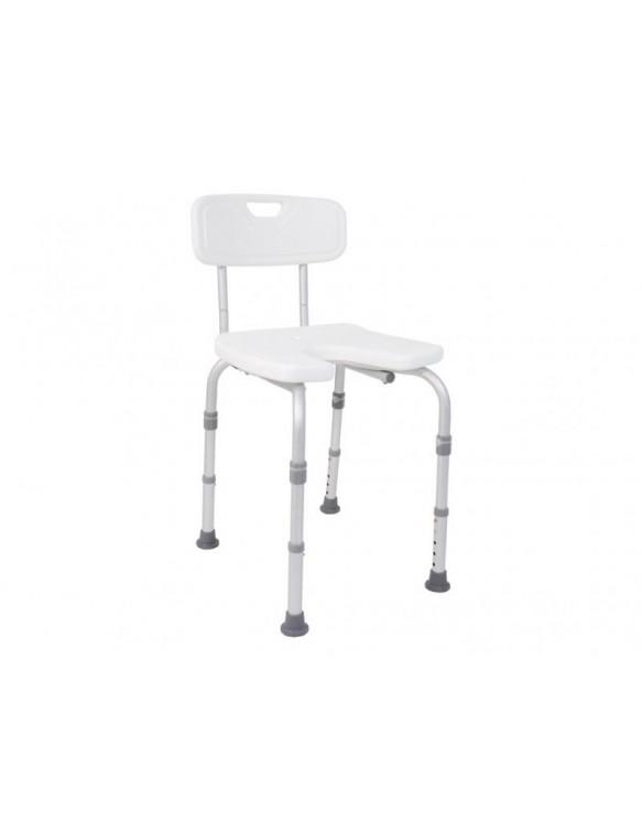 chaise de douche reglable. Black Bedroom Furniture Sets. Home Design Ideas